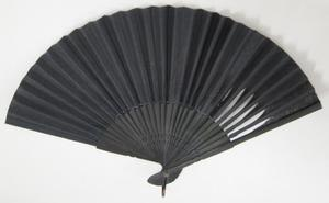 Primary view of object titled 'Mourning Fan'.