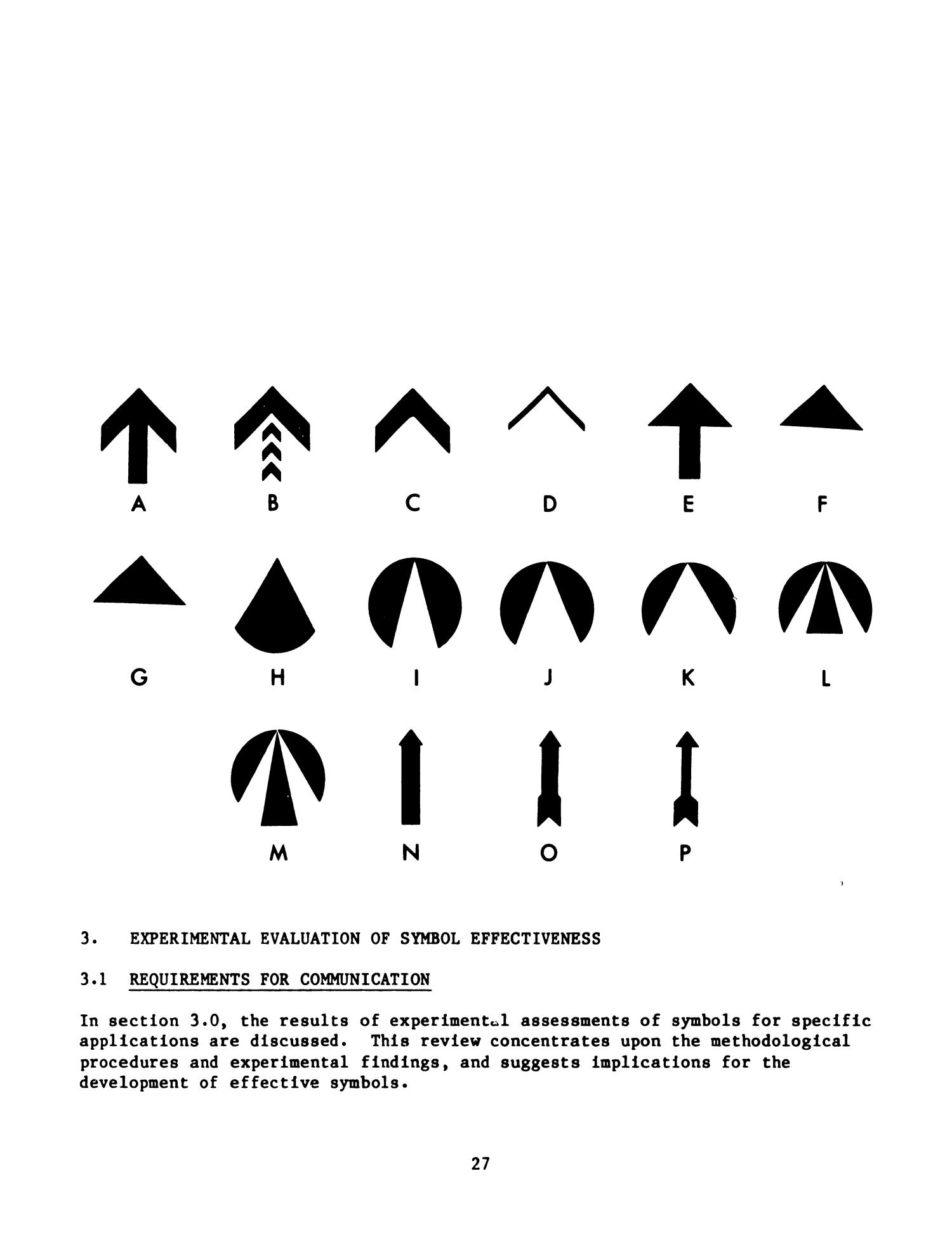 The Development And Evaluation Of Effective Symbol Signs Page 27