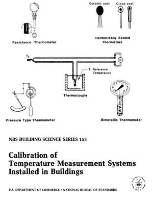 Calibration of Temperature Measurement Systems Installed in Buildings