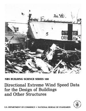 Directional Extreme Wind Speed Data for the Design of Buildings and Other Structures