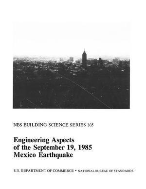 Primary view of object titled 'Engineering Aspects of the September 19, 1985 Mexico Earthquake'.