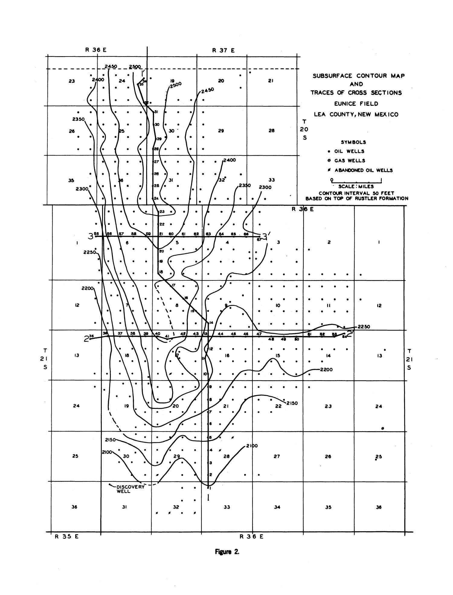 New mexico lea county eunice - Reservoir Characteristics Of The Eunice Oil Field Lea County New Mexico Page 7 Digital Library