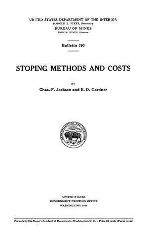 Stopping Methods and Costs