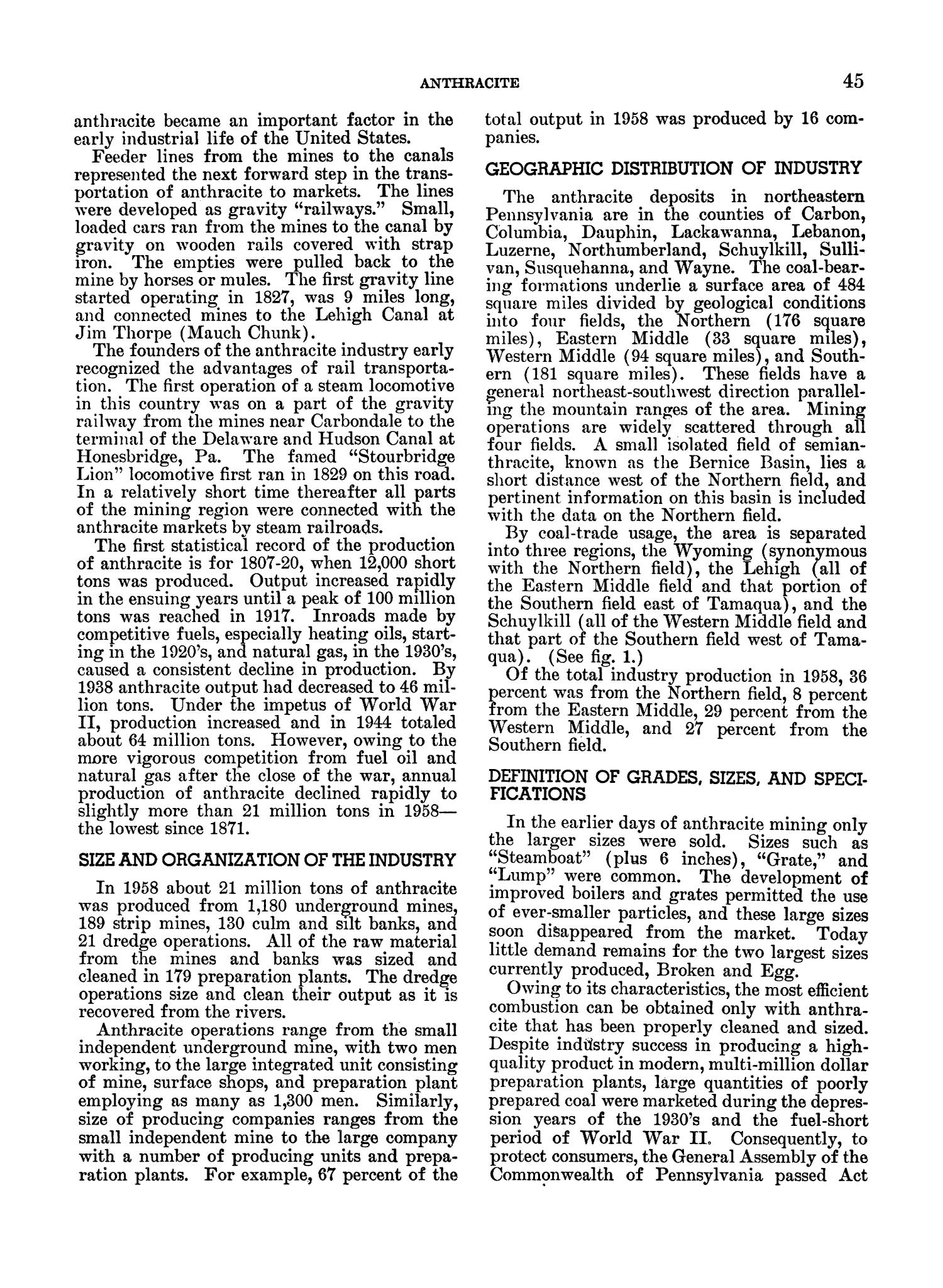 Mineral Facts and Problems: 1960 Edition                                                                                                      45