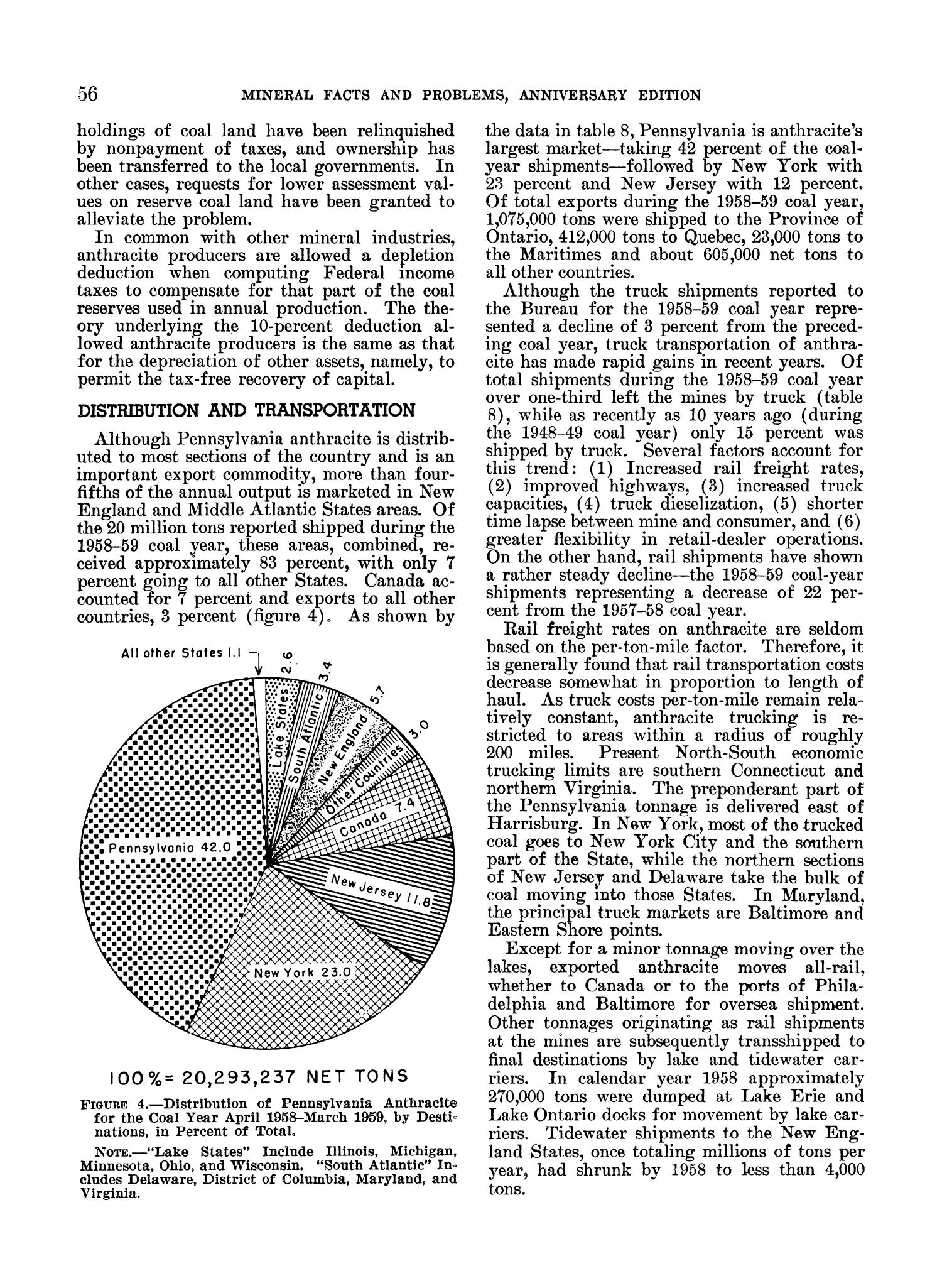Mineral Facts and Problems: 1960 Edition                                                                                                      56