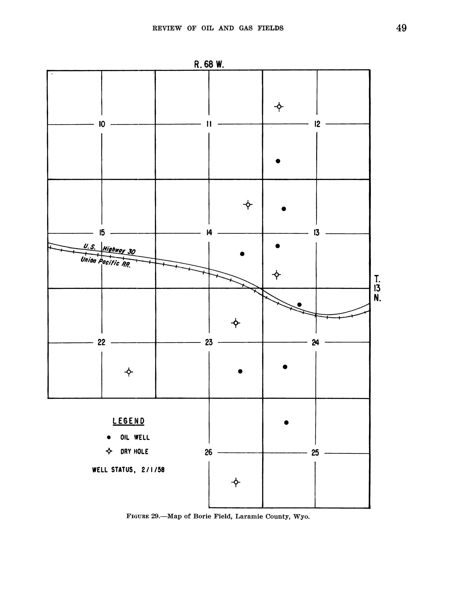 Petroleum and Natural Gas Fields in Wyoming                                                                                                      49