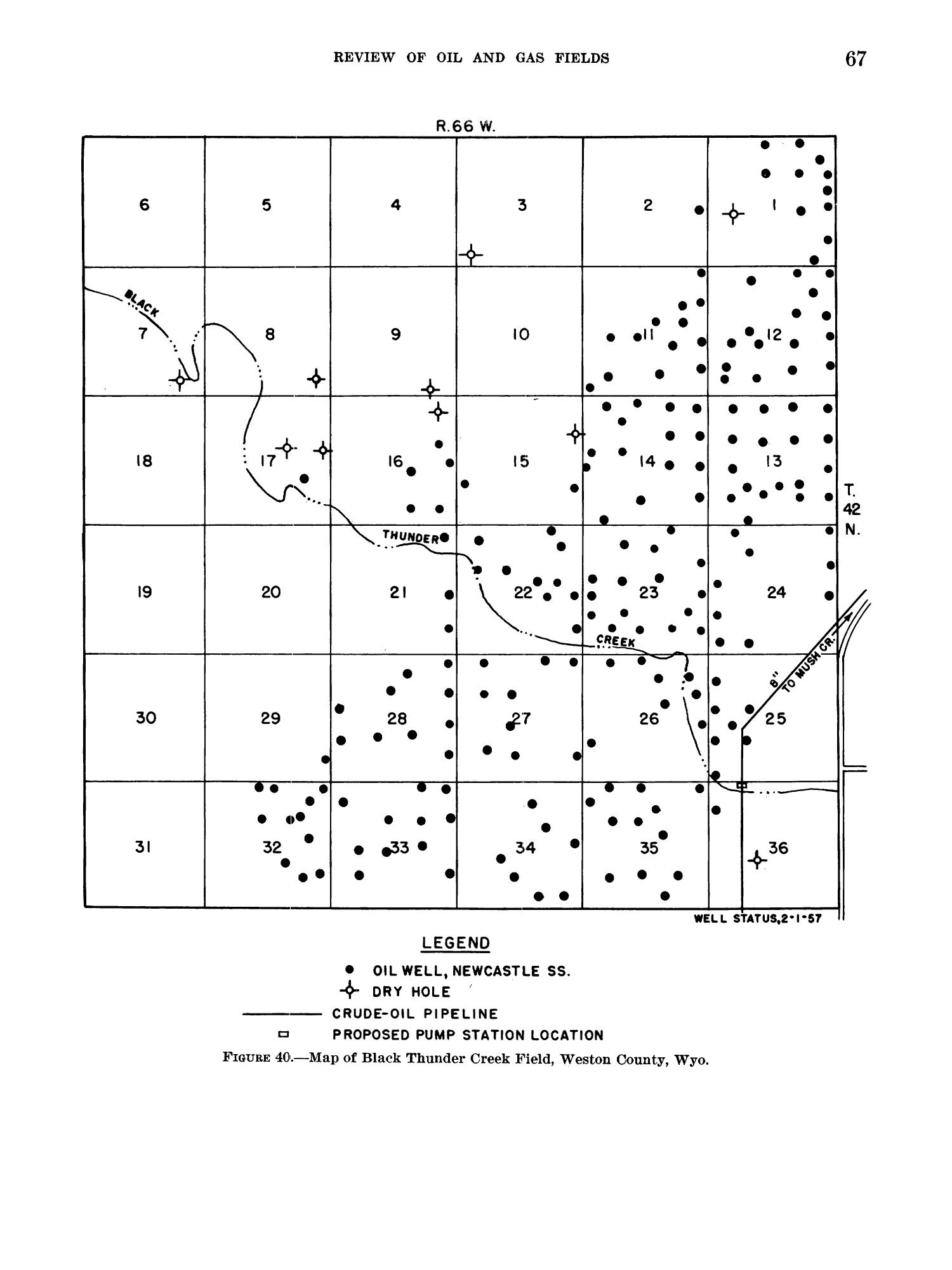 Petroleum and Natural Gas Fields in Wyoming                                                                                                      67