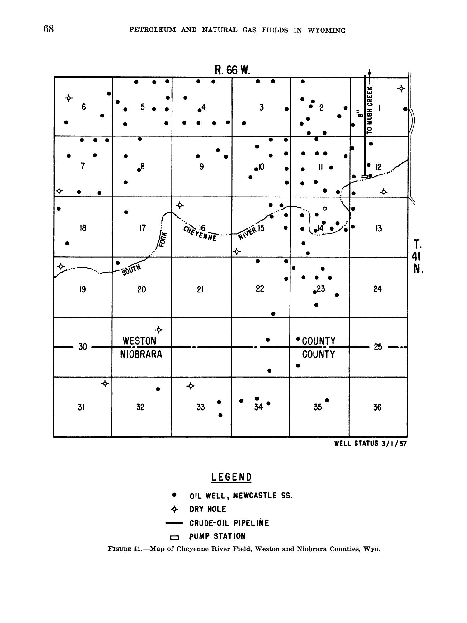 Petroleum and Natural Gas Fields in Wyoming                                                                                                      68