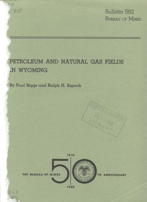 Petroleum and Natural Gas Fields in Wyoming