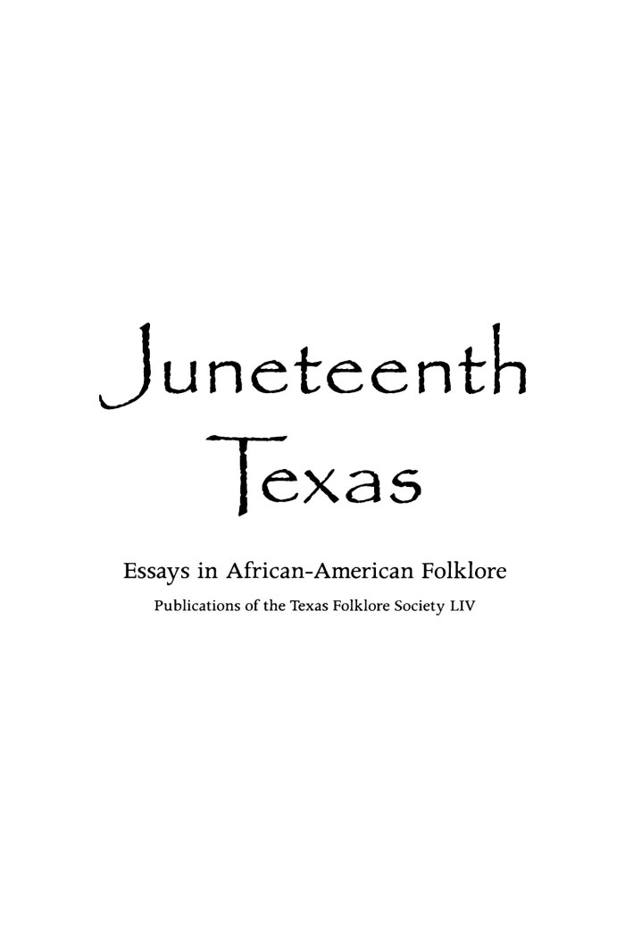 african american folklore essay Children's folklore, in general , it is clear that at an early age, african american children actively participate in their verbal development they brag , and clap-hand games of black children with interpretive essays reflecting her years with the perlita street.