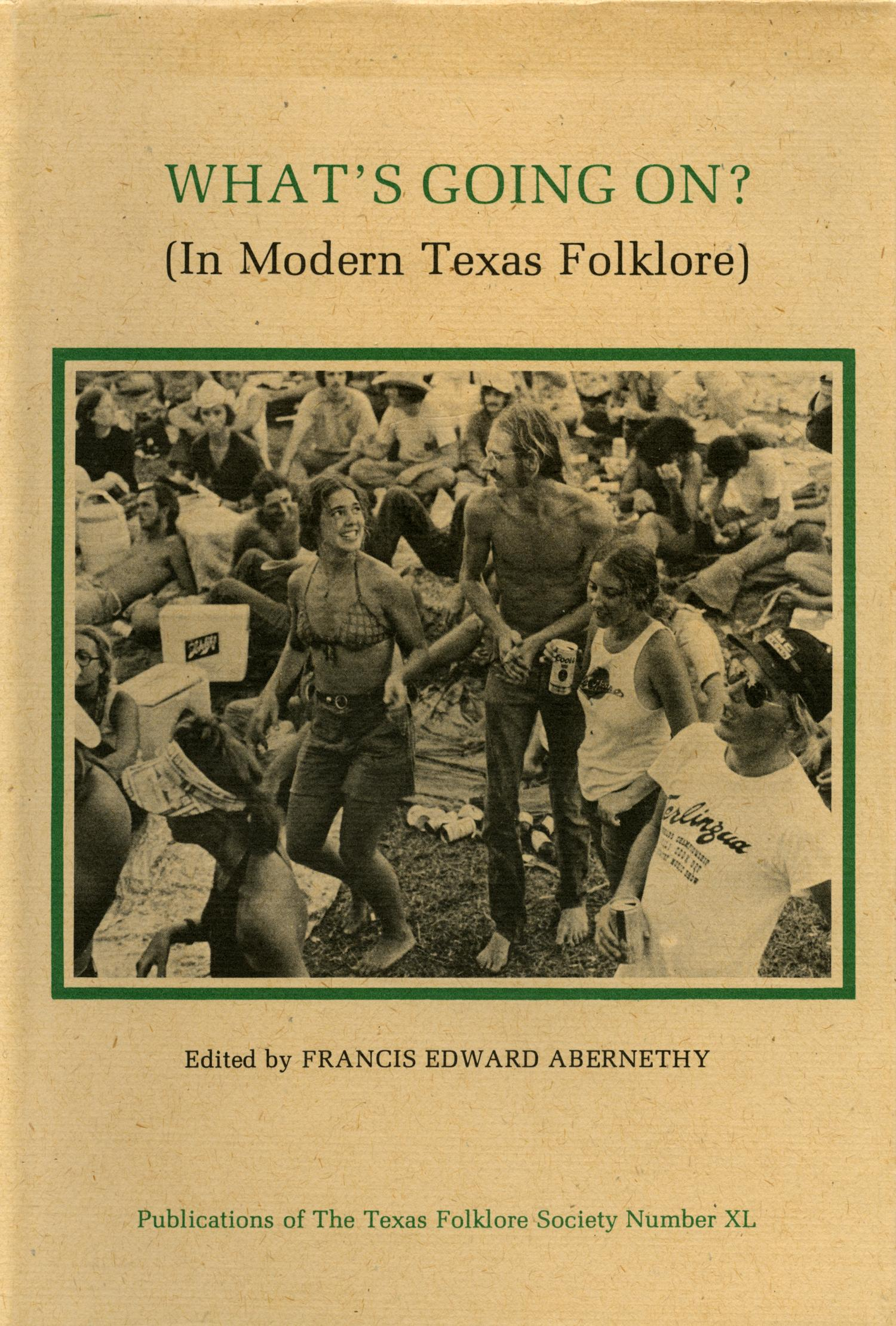 What's Going On? (In Modern Texas Folklore)                                                                                                      Front Cover