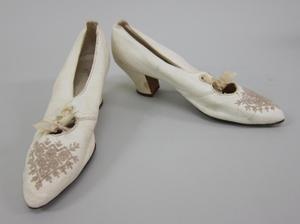 Primary view of object titled 'Wedding Shoes'.