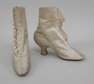 Primary view of object titled 'Wedding Boots'.
