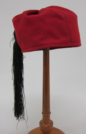 Primary view of object titled 'Fez'.