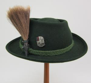Primary view of object titled 'Alpine Hat'.