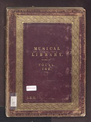 Primary view of The Musical Library, Vocal: Volumes 1 & 2