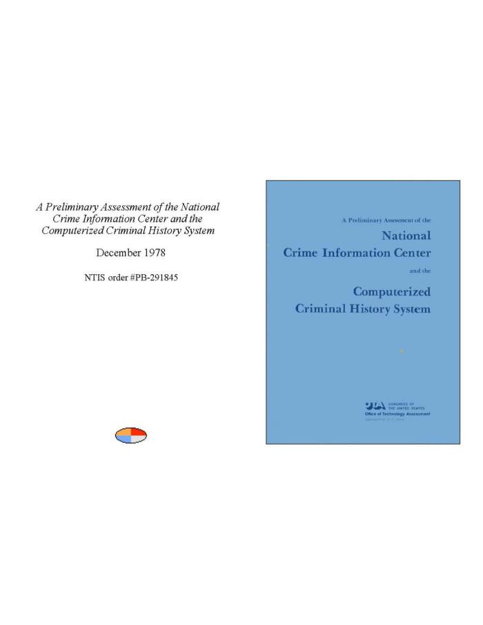 National crime criminal information system