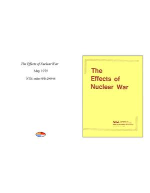 Primary view of object titled 'The Effects of Nuclear War'.