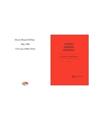 Primary view of object titled 'Ocean Margin Drilling'.