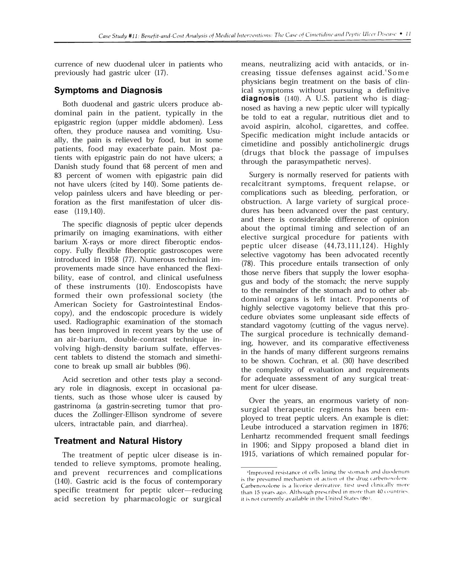 The Implications of Cost-Effectiveness Analysis of Medical