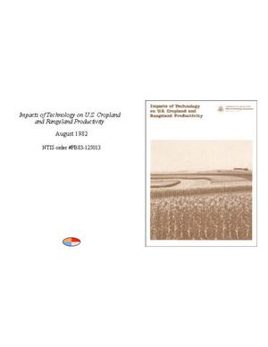 Primary view of object titled 'Impacts of Technology on U.S. Cropland and Rangeland Productivity'.