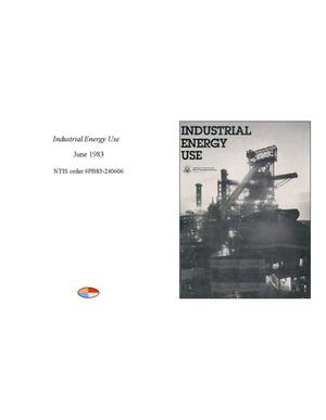 Primary view of object titled 'Industrial Energy Use'.