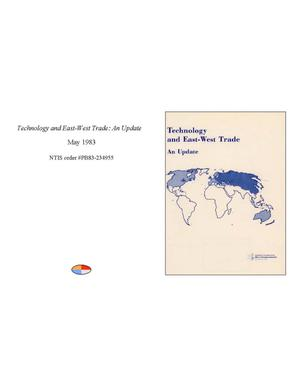 Primary view of object titled 'Technology and East-West Trade: An Update'.