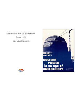 Primary view of object titled 'Nuclear Power in an Age of Uncertainty'.