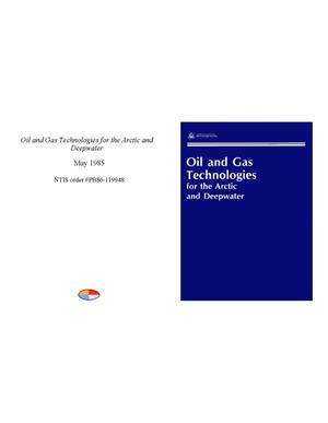 Primary view of object titled 'Oil and Gas Technologies for the Arctic and Deepwater'.