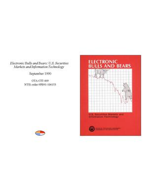 Primary view of object titled 'Electronic Bulls and Bears: U.S. Securities Markets and Information Technology'.