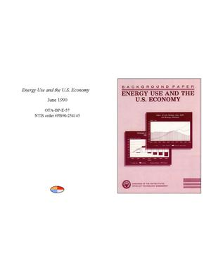 Primary view of object titled 'Energy Use and the U.S. Economy'.