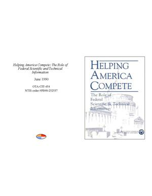 Primary view of object titled 'Helping America Compete: The Role of Federal Scientific and Technical Information'.