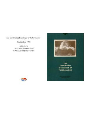 Primary view of object titled 'The Continuing Challenge of Tuberculosis'.