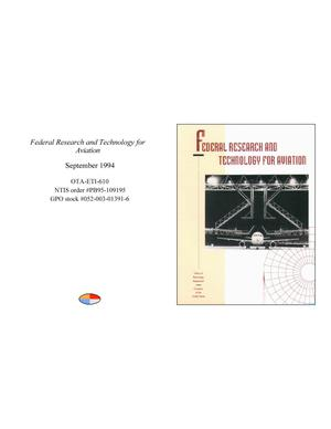 Primary view of object titled 'Federal Research and Technology for Aviation'.