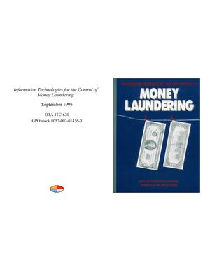 Primary view of object titled 'Information Technologies for the Control of Money Laundering'.