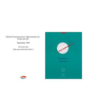 Primary view of object titled 'Global Communications: Opportunities for Trade and Aid'.