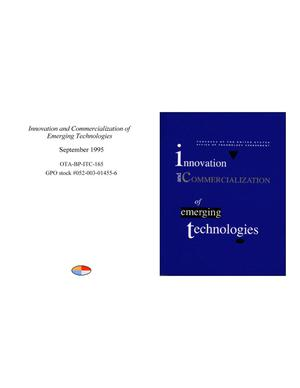 Innovation and Commercialization of Emerging Technologies