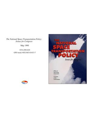 Primary view of object titled 'The National Space Transportation Policy: Issues for Congress'.