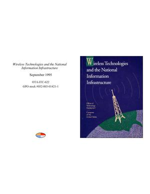 Primary view of object titled 'Wireless Technologies and the National Information Infrastructure'.