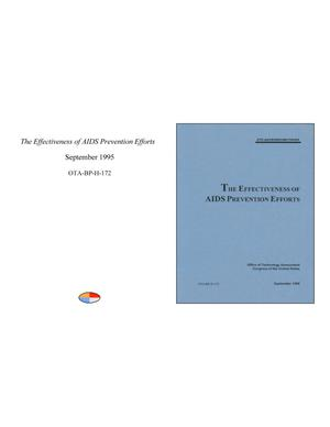 Primary view of object titled 'The Effectiveness of AIDS Prevention Efforts'.