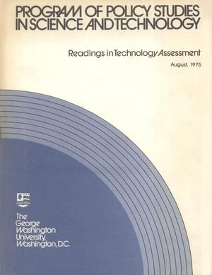 Primary view of object titled 'Program of Policy Studies in Science and Technology'.