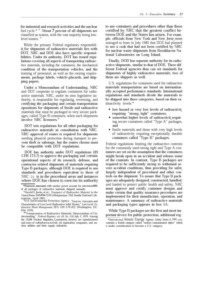 Transportation of hazardous materials, Page: 27 | UNT Digital Library
