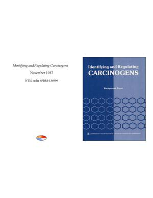 Primary view of object titled 'Identifying and regulating carcinogens'.
