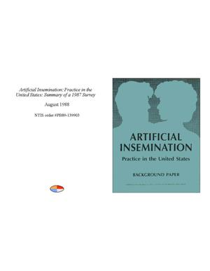 Artificial insemination: practice in the United States: summary of a 1987 survey