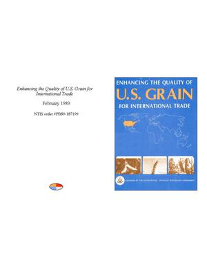 Primary view of object titled 'Enhancing the Quality of U.S. Grain for International Trade'.