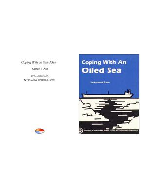 Primary view of object titled 'Coping With an Oiled Sea'.