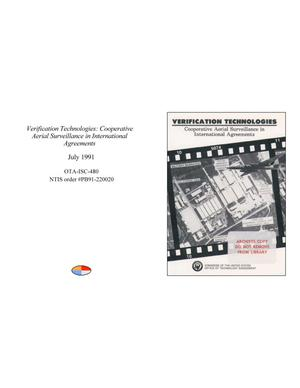 Primary view of object titled 'Verification Technologies: Cooperative Aerial Surveillance in International Agreements'.
