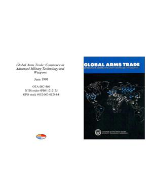 Primary view of object titled 'Global Arms Trade: Commerce in Advanced Military Technology and Weapons'.
