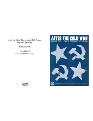 Primary view of object titled 'After the Cold War: Living With Lower Defense Spending'.
