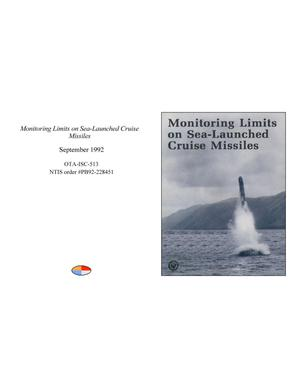 Primary view of object titled 'Monitoring Limits on Sea-Launched Cruise Missiles'.